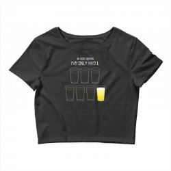 dog beers Crop Top | Artistshot