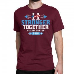 Stronger Together Hillary Clinton Classic T-shirt   Artistshot
