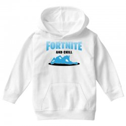 fortnite and chill Youth Hoodie | Artistshot