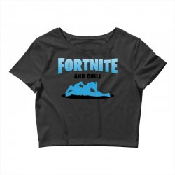 fortnite and chill Crop Top | Artistshot