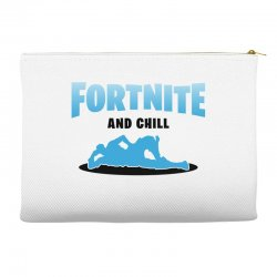 fortnite and chill Accessory Pouches | Artistshot