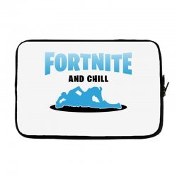 fortnite and chill Laptop sleeve | Artistshot
