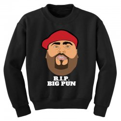 Rip big pun Youth Sweatshirt | Artistshot
