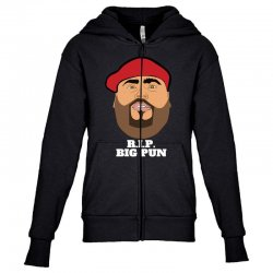 Rip big pun Youth Zipper Hoodie | Artistshot