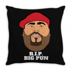 Rip big pun Throw Pillow | Artistshot