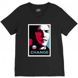 alpha obama V-Neck Tee | Artistshot