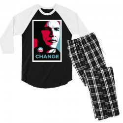 alpha obama Men's 3/4 Sleeve Pajama Set | Artistshot
