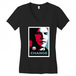 alpha obama Women's V-Neck T-Shirt | Artistshot