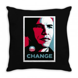 alpha obama Throw Pillow | Artistshot