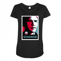 alpha obama Maternity Scoop Neck T-shirt | Artistshot
