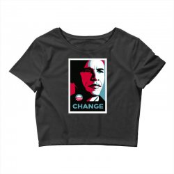alpha obama Crop Top | Artistshot