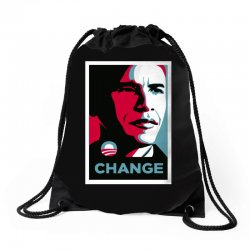 alpha obama Drawstring Bags | Artistshot