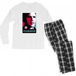 alpha obama Men's Long Sleeve Pajama Set | Artistshot