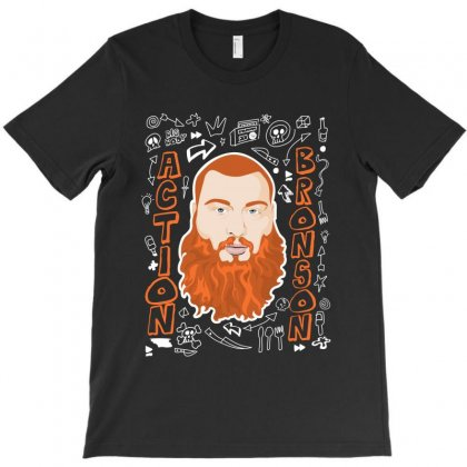 Action Bronson T-shirt Designed By Banapeth