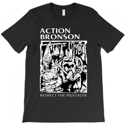 Silhouette Design Art Action Bronson T-shirt Designed By Banapeth