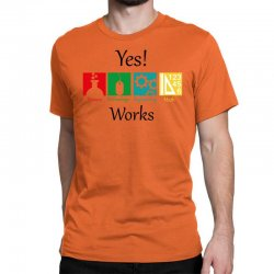 yes work science Classic T-shirt | Artistshot