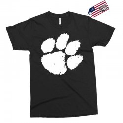 clemson tigers foot print Exclusive T-shirt | Artistshot