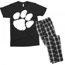 clemson tigers foot print Men's T-shirt Pajama Set | Artistshot