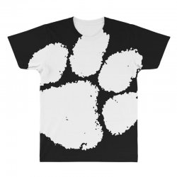 clemson tigers foot print All Over Men's T-shirt | Artistshot