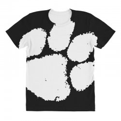 clemson tigers foot print All Over Women's T-shirt | Artistshot