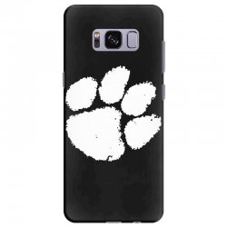 clemson tigers foot print Samsung Galaxy S8 Plus Case | Artistshot