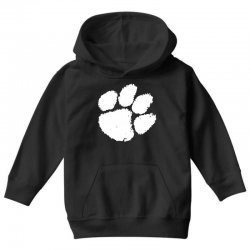 clemson tigers foot print Youth Hoodie | Artistshot