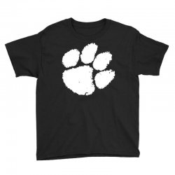 clemson tigers foot print Youth Tee | Artistshot