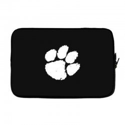 clemson tigers foot print Laptop sleeve | Artistshot