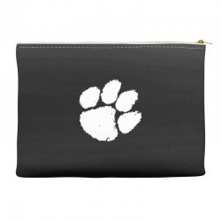 clemson tigers foot print Accessory Pouches | Artistshot