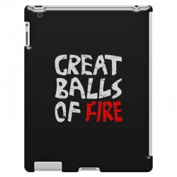 great balls of fire iPad 3 and 4 Case | Artistshot