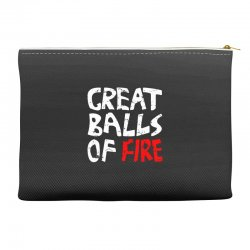 great balls of fire Accessory Pouches | Artistshot