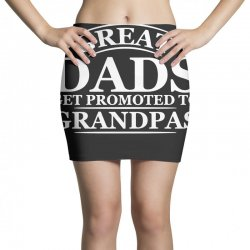 great dads get promoted to grandpas funny Mini Skirts | Artistshot