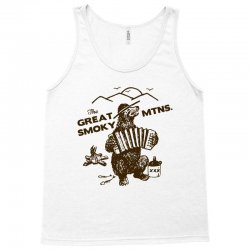 great smoky mountains t shirt national park shirt smokey the bear shir Tank Top | Artistshot