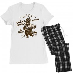 great smoky mountains t shirt national park shirt smokey the bear shir Women's Pajamas Set | Artistshot