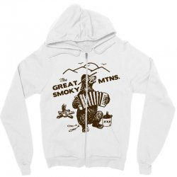 great smoky mountains t shirt national park shirt smokey the bear shir Zipper Hoodie | Artistshot