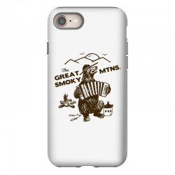 great smoky mountains t shirt national park shirt smokey the bear shir iPhone 8 Case | Artistshot