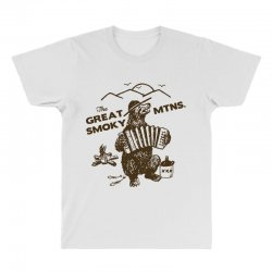 great smoky mountains t shirt national park shirt smokey the bear shir All Over Men's T-shirt | Artistshot