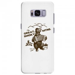 great smoky mountains t shirt national park shirt smokey the bear shir Samsung Galaxy S8 Plus Case | Artistshot