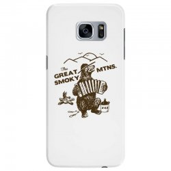 great smoky mountains t shirt national park shirt smokey the bear shir Samsung Galaxy S7 Edge Case | Artistshot