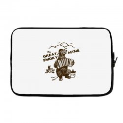 great smoky mountains t shirt national park shirt smokey the bear shir Laptop sleeve | Artistshot