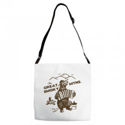 great smoky mountains t shirt national park shirt smokey the bear shir Adjustable Strap Totes | Artistshot