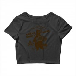 great smoky mountains t shirt national park shirt smokey the bear shir Crop Top | Artistshot