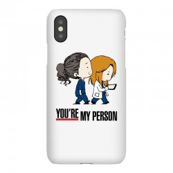 grey's anatomy you're my person iPhoneX Case | Artistshot