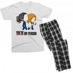 grey's anatomy you're my person Men's T-shirt Pajama Set | Artistshot