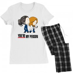 grey's anatomy you're my person Women's Pajamas Set | Artistshot