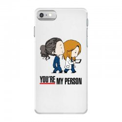 grey's anatomy you're my person iPhone 7 Case | Artistshot