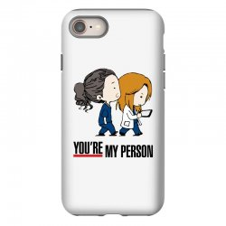grey's anatomy you're my person iPhone 8 Case | Artistshot