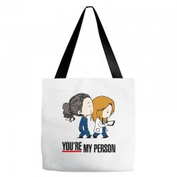 grey's anatomy you're my person Tote Bags | Artistshot