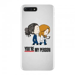 grey's anatomy you're my person iPhone 7 Plus Case | Artistshot