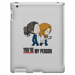 grey's anatomy you're my person iPad 3 and 4 Case | Artistshot